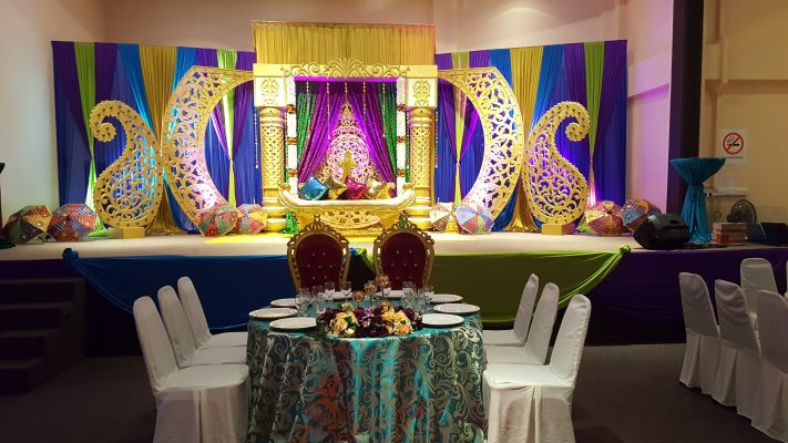 Westlane Place Stage Decor for Indian Weddings